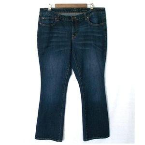 2/$30 Jessica Simpson Dark Rockin Curvy Boot Jeans